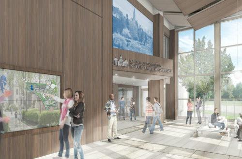 Seton Hall University – Welcome Center
