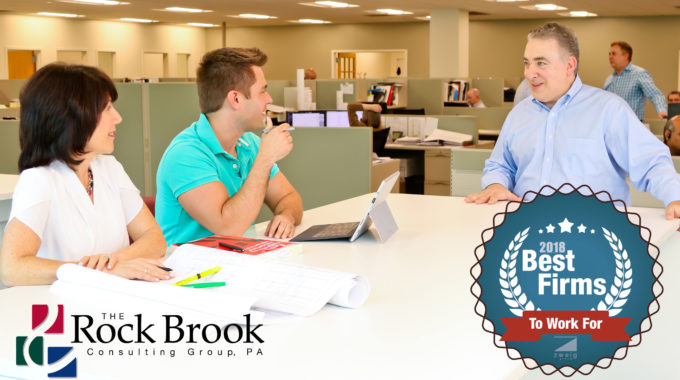 "Rock Brook Does It Again! #58 On Zweig Group's ""Best Firms To Work For 2018"""