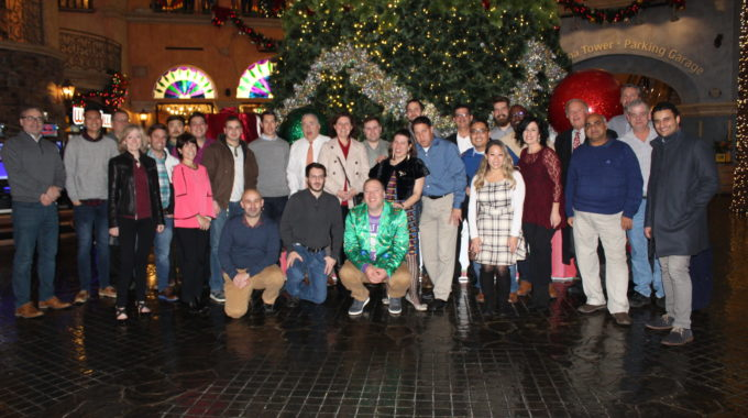 Snapshots From Rock Brook's 2019 Holiday Party In Atlantic City!