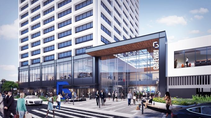 Onyx Equities Releases Renderings For Newark's One Gateway Center Project